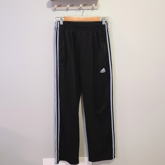 Adidas Full Length Track Pants in Navy Blue